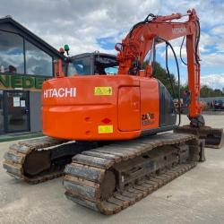 HITACHI ZX135US WITH BLADE