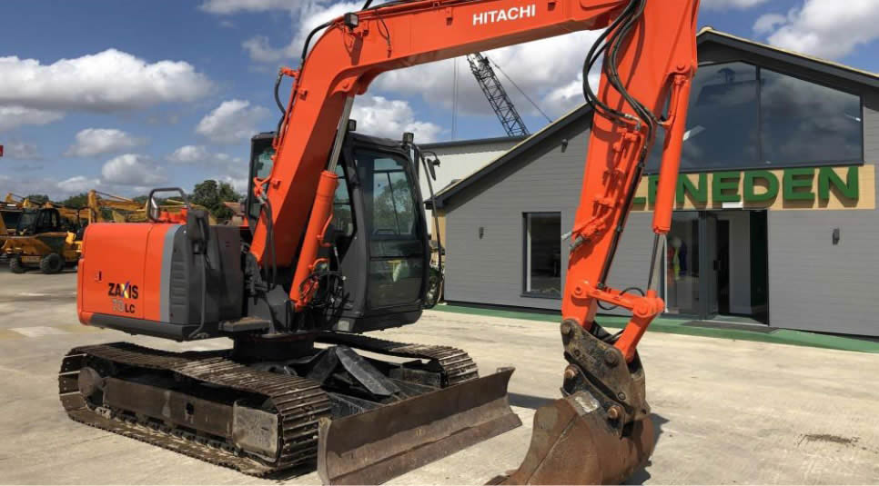 Excavators, Mini / Midi Excavators, Wheeled Excavators and Backhoe Loaders